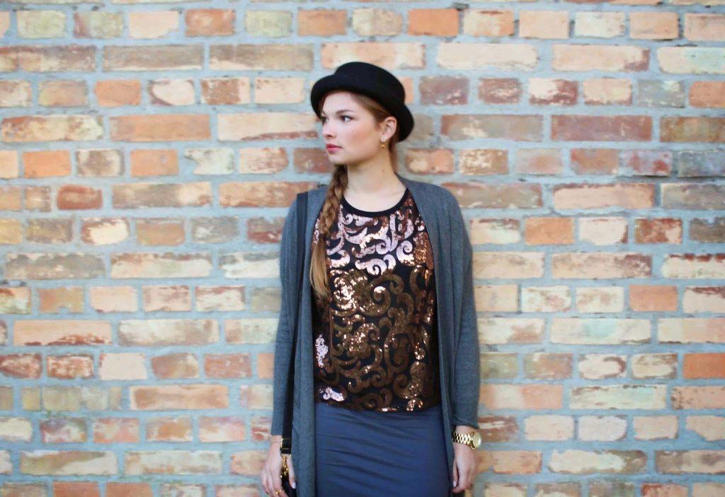Primark Outfit mit Hut Herbst Winter Kollektion 2014