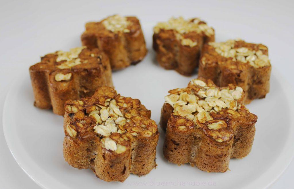 Fitnessmuffins Süßkartoffel Muffins kalorienarme Muffins zuckerfrei und fettarm