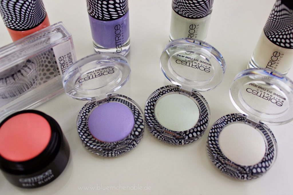 Catrice Doll's Collection Satin Matt Eye Shadows: C01 Playing in Lavender Heaven - C02 Hide & Green - C03 Be My Porcelain Doll